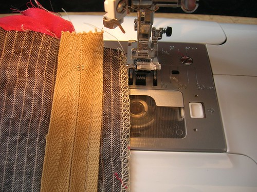 People are intimidated by sewing zippers; with the right directions, it is actually very easy.