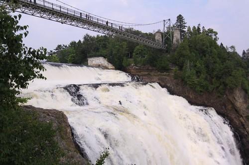Montmorency Falls Park, Quebec.