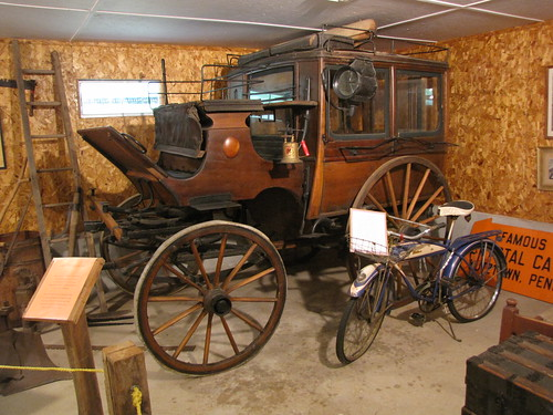 Crystal Cave Stagecoach