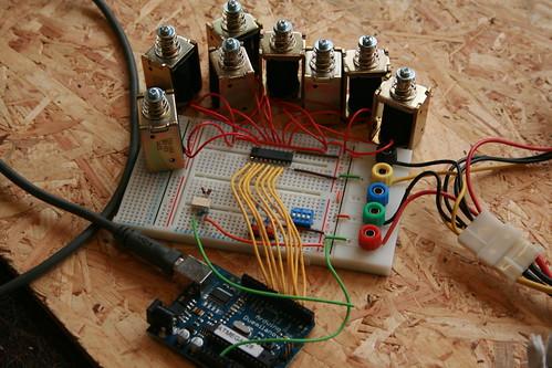 Arduino Rhythm Solenoids