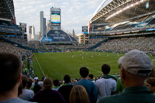 Qwest Field - Seattle Sounders vs. New England Revolution