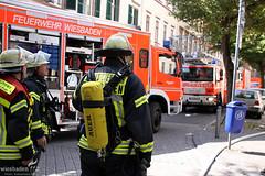 Waschmaschinenbrand Forststr. 23.08.09