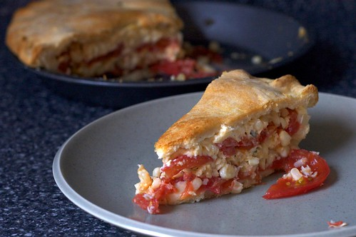 tomato and corn pie | smitten kitchen