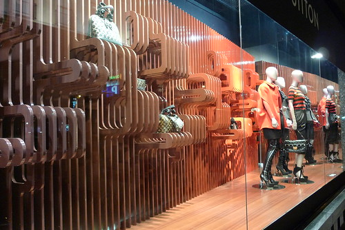 Louis Vuitton aux Galeries Lafayette août 2009