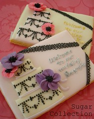 sample 1 (JILL's Sugar Collection) Tags: wedding color cookies foods decoration icing piping picnik foodcolor royalicing sugarcraft