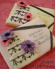 sample 1 (JILL's Sugar Collection) Tags: wedding color cookies foods decoration icing piping picnik foodcolor royalicing sugarcraft