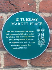 Photo of Green plaque number 3846