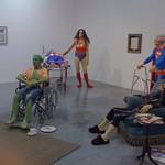 Les super-héros à l'hospice - Gilles Barbier : L'Hospice -  2002 thumbnail