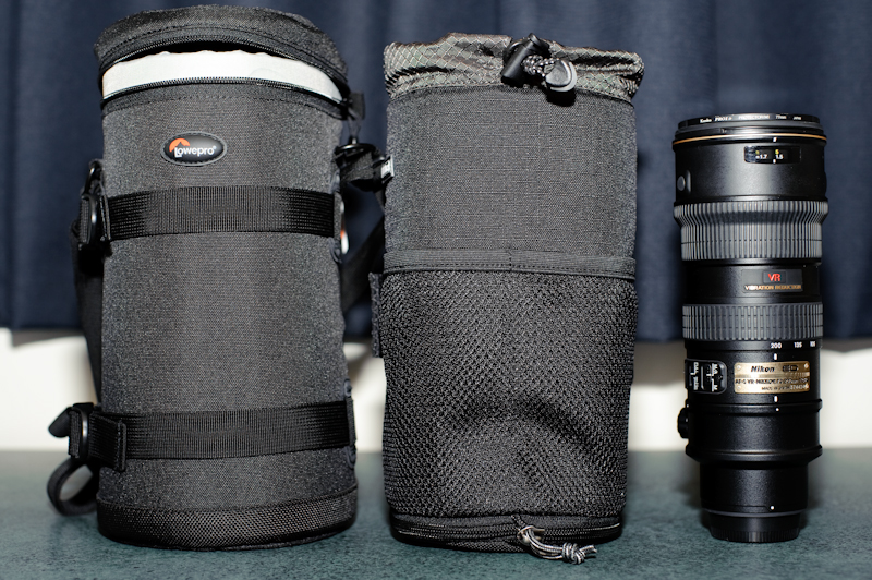 Think Tank 75 Pop Down and Lowepro LC4 for 70-200mm f/2.8