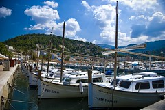 Harbour of Port Sóller, Mallorca
