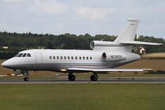 HZ-OFC5 - Private - Dassault Falcon 900EX - Luton - 090723 - Steven Gray - IMG_8330