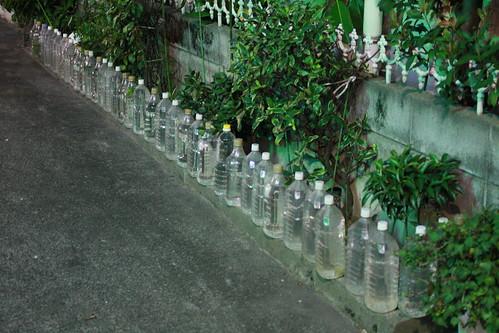 ペットボトルたくさん