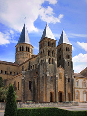 "the Romanesque  Abbey ""Sacré Coeur""  Paray-le-Monial"