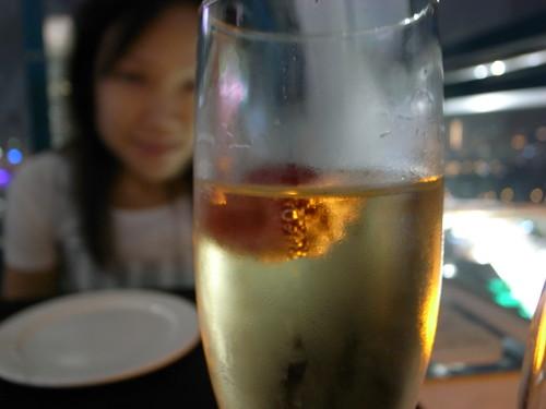 Lomantic Dinner at Singapore Flyer