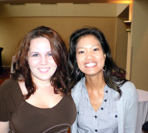 Michelle Malkin and I at the fundraiser.
