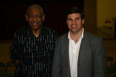 Senator Peters with Marlboro Meadows Resident