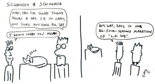 366 Cartoons - 232 - Schmuzzy and Schmerica