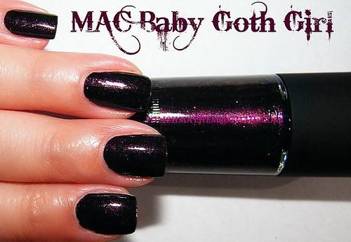MAC Baby Goth Girl
