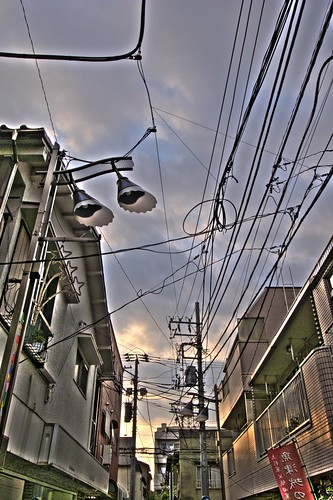 Tokyo Down Town Sky [pseudo-HDR]