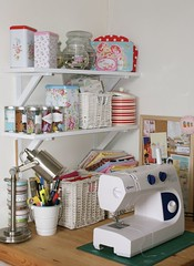 craftroom (Messy Jesse) Tags: ikea barn studio handmade sewing pottery scrap organization polkadot organisation craftroom cathkidston scrapbookroom homersiliad travelsofhomerodyssey