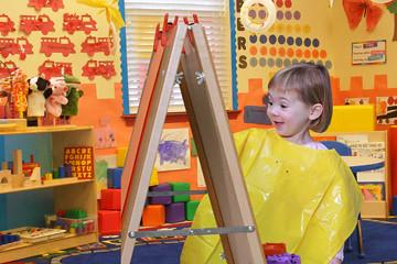 Art - Painting Girl B
