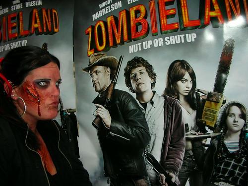 Thumb Bill Murray es un zombie en Zombieland (Tierra de Zombies)