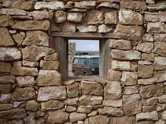 Two Guns AZ window (GoWesty (Official)) Tags: camping bus nature vw volkswagen scenic traveling van camper vanagon gowesty wwwgowestycom