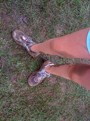 Shoes after the race...