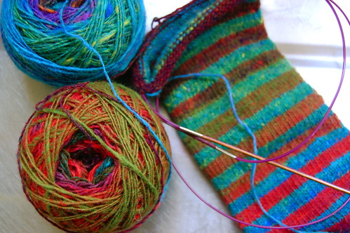 Noro Stripe socks