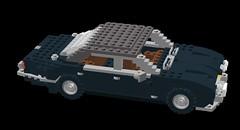 Jaguar XJ6 Series 1 (lego911) Tags: auto classic car lego jaguar 1960s lugnuts moc xj6 seriesi