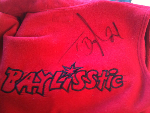 Baylisstic signs it last!!