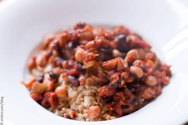 Coconut Rice & Chili - Dinner