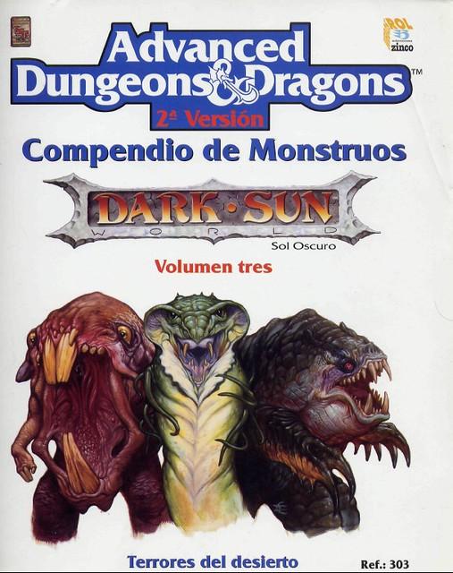 Compendio de Monstruos vol. 3