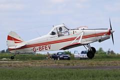 G-BFEV (QSY on-route) Tags: club fly 55 th aero in lincon sturgate egcs 04062011 gbfev