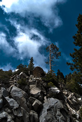 Sky and Rocks (esmithiii2003) Tags: california trip vacation mountains cali delete10 delete9 delete5 delete2 forrest delete6 delete7 delete8 delete3 delete delete4 redwoods sequoia hdr sequoias esmithiii cali2011 esmithiii2003 deletedbythehotboxgroup