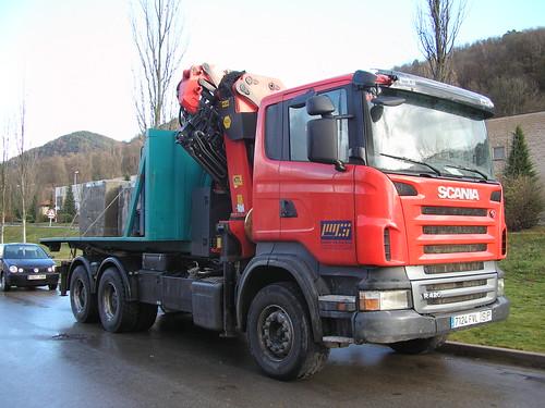 Scania de l'empresa GARDELL