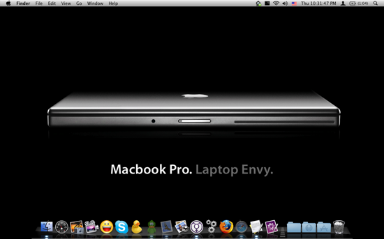 MacBook Pro. Laptop Envy