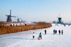 090110Molentocht9472 (richardvanhoek) Tags: nederland molentocht ijs schaatsen vorst winterweer vriezen schaatstocht winterijspret