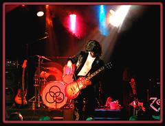 No Quarter, Led Zeppelin Tribute Band, Colorado Springs: 01-15-09 (Colorado Scenics) Tags: colorado coloradosprings frontrange cityatnight availablelightphotography noquarter elpasocounty olympusc4040z flickrlovers bryanchristiansen p1150036lz thirstyparrott bryanchristiansenjimmypaige