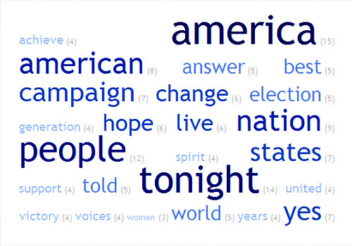 3212558751 b1858fb701 Web 2.0 Brand Study: Top 25 Words In Obamas Inauguration Day Speech