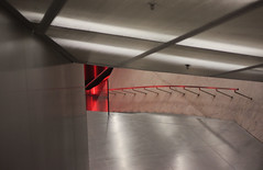 move around (NN) Tags: red portugal lines architecture stairs steps porto escaleras casadamusica remkoolhas