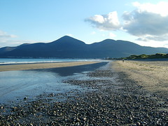 """Mountains of Mourne"" (Pamela B) Tags: blue friends sea sky mountains beach water reflections newcastle sand pebbles northernireland mourne countydown oceanshore ilovemypics mindigtopponalwaysontop"