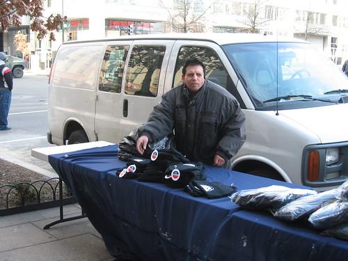 Obama hat vendor
