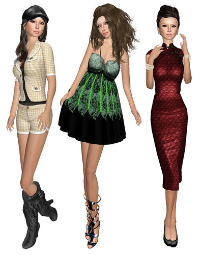 Skins and some dresses