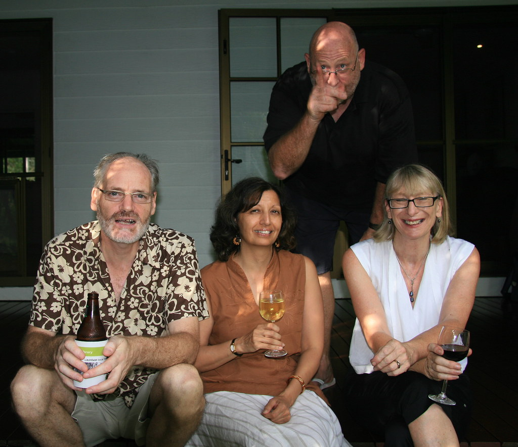 Peter, Jayshree, Rod and Jessie