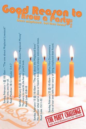 Good reason to throw a party - feb09 - theStory Calendar