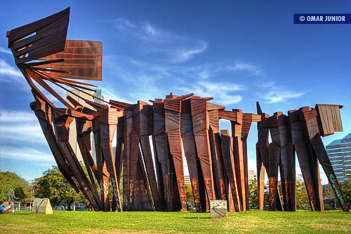 Monumento aos Açorianos | HDR