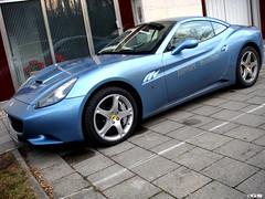Ferrari California (Germanspotter) Tags: auto california street italy car germany munich mnchen deutschland nice italian ferrari exotic passion 2009 find supercar brandnew sportwagen germanspotter