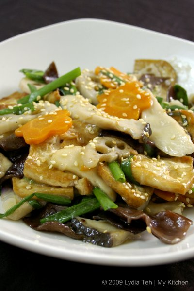 Veges with Tofu