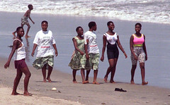 Labadi Beach Accra Ghana African Ladies April 1999 001a (photographer695) Tags: labadi beach accra ghana 1999 african ladies